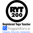 Yoga Alliance: Registered Yoga Teacher, RYT-200